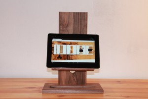 Nußbaum frontal Tablet